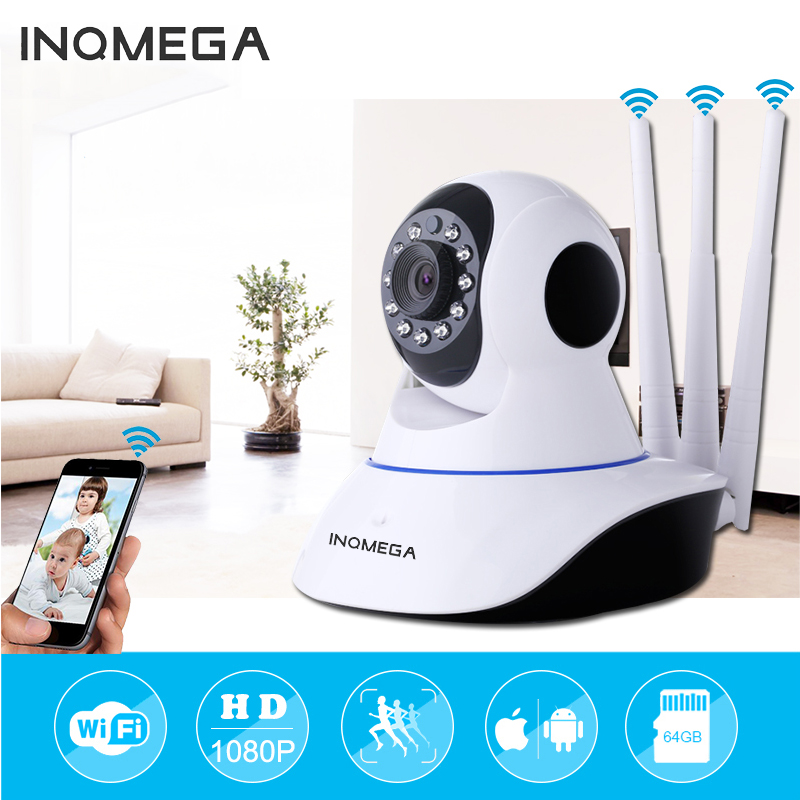 INQMEGA 1080P 720P IP Camera Wireless Home Security IP Camera Surveillance Camera Wifi Night Vision Baby Monitor CCTV Camera