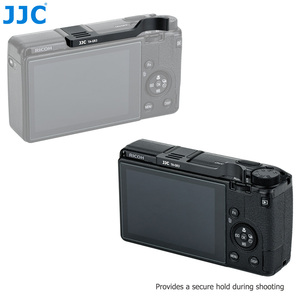 Image 5 - Jjc親指グリップ手リコーgr iii griii GR3用カメラアクセサリーアルミ合金ホットシューカバーホット靴キャップ