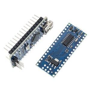 Image 5 - 100 pièces Nano 3.0 ATMEGA328P contrôleur compatible avec pour nano CH340 USB pilote 16Mhz pas de câble pour arduino