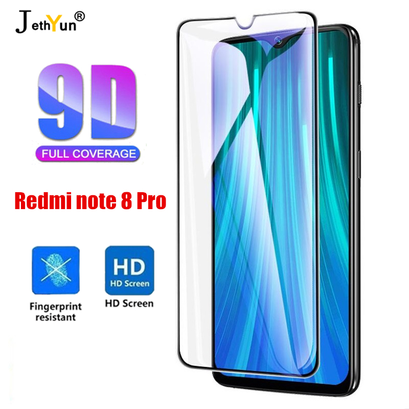 Tempered Glass For Xiaomi Redmi Note 8 Pro Screen Protector For Redmi Note8pro Protective Film Note8 Pro Full Cover