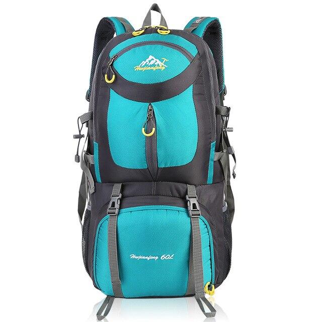 60l Camping Hiking Travel Riding Waterproof Hiking Backpacks 9