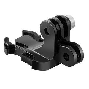 Image 4 - TELESIN Quick Release Shoulder Strap Mount with dual head J hook Backpack Pad Holder for GoPro Hero 7 6 5 SJCAM EKEN OSMO ACTION