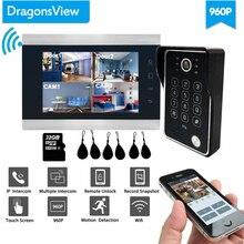 Dragonsview 960P Wifi Video Door Phone Doorbell Camera IP Do