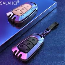亜鉛合金革車のキーケースカバーキャデラックエスカレードcts xts ats ATS L xls srx 2015 4/5/6ボタン28t CTS V XT5 CT6