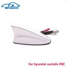 Для HYUNDAI SANTAFE DM радио антенна плавник акулы на крышу стиль Антенна GPS антенна Сигнала Антенна CDMA