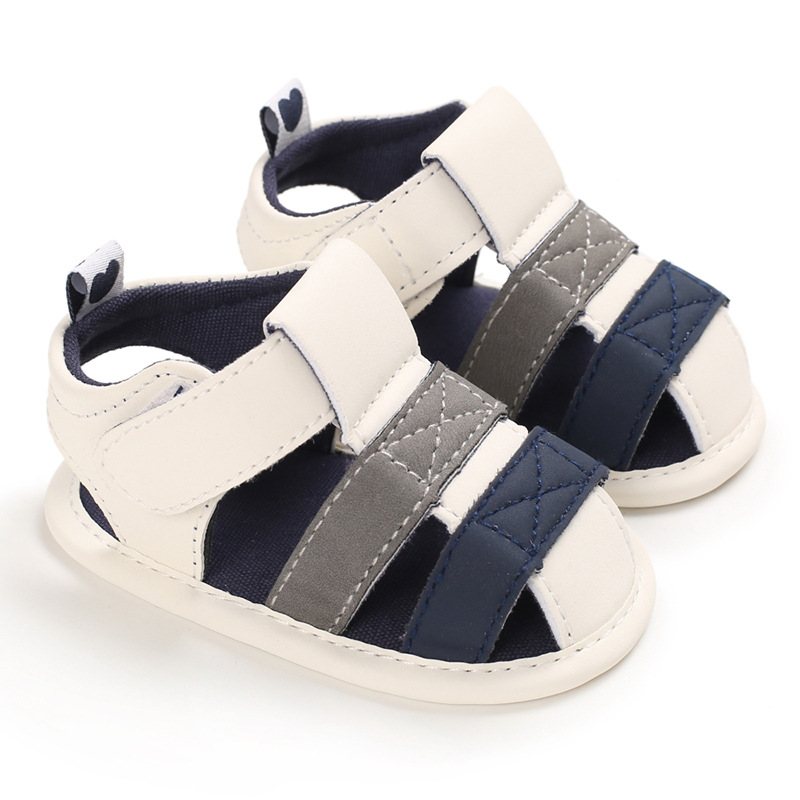 Newborn Baby Girl Boy Roman Shoes First Walkers Soft Sole Shoes Toddler Sandalet Summer Newborn Shoes