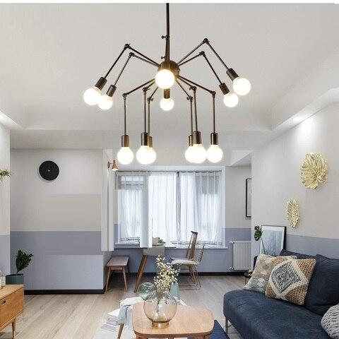 aranha dispositivo eletrico da lampada do teto luz