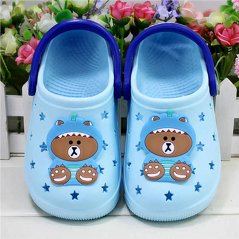 Beach Shoes Kids Cute Bear Slippers Lightweight Baby Water Shoes Summer  Children Sandals Slippers For Girls Boys Outdoor Shoes Mules & Clogs  -  AliExpress