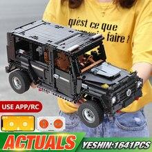 Yeshin 20100 Technic автомобиль совместим с Legoing MOC-2425 G500 AWD вагон Набор строительных блоков Кирпичи Модель автомобиля детские игрушки