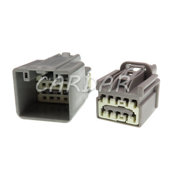 1 Set 10 Pin 7282-6455-40 7283-6455-40 Car Auto Rearview Mirror Cable Socket Connector For Ford image