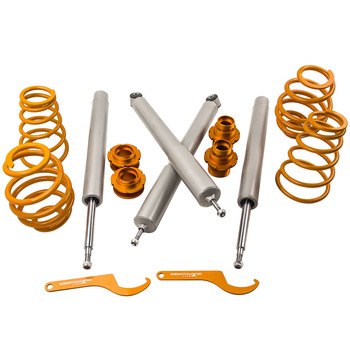 51mm Adjustable Coilover For Bmw 3 Series E30 Saloon Suspension Shock Absorbers Coil Springs over Strut image