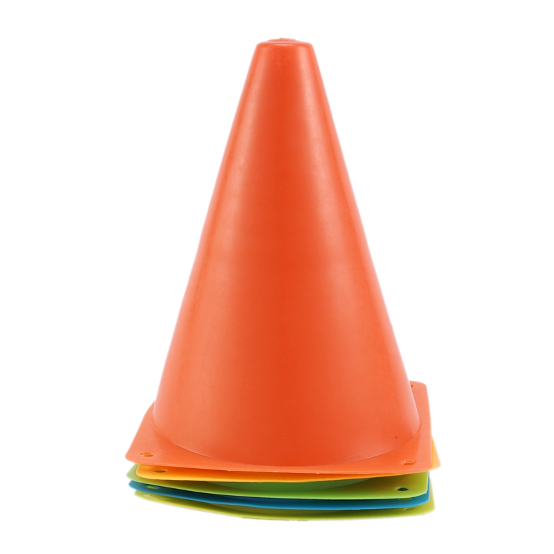 Sign Cones Sign Tube Road Sign Barriers Football Training Equipment 1 Set Of 5
