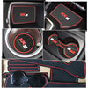 Anti-Slip Rubber Gate Slot Cup Mat For KIA Sportage 2016 2017 2018 2019 QL 4th Gen MK4 KX5 Coaster Accessories Car Stickers discount