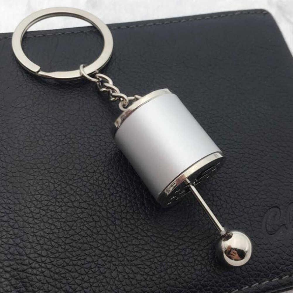 רכב ציוד תיבת Keychain עבור גברים נשים חיקוי 6 מהירות ידנית רכב סטיילינג keyring הילוך ידית משמרת תיבת הילוכים מקל מתנת מזכרת חמה