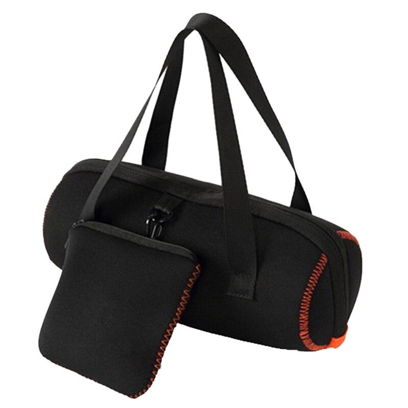 Tüketici Elektroniği'ten Hoparlör Aksesuarları'de Jbl şarj 4/Jbl darbe 3 bluetooth hoparlör taşıma çantası kılıf tutucu saplı çanta koruyucu kılıfı title=
