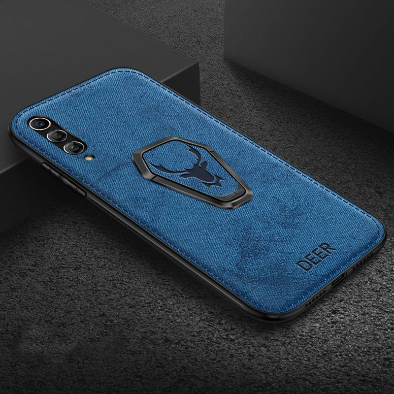 Case For Samsung Galaxy S20 Ultra A51 A71 A81 A91 Note 10 Lite S10 Plus S10 Lite A70 A30 A50S Fabric Magnetic Bracket Case Cover
