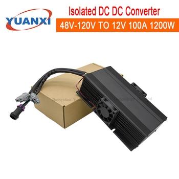 1200W Isolated DC Converter 48V 60V 72V 84V 96V 108V 120V TO 12V 13.8V 100A 1200W dc dc converter
