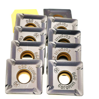 20PCS Milling insert R290 12T308M PM 4240 Carbide insert R290 12T308M PM 4230 Turning insert R290 Hard Alloy turning tool