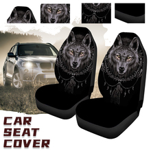 Gray wolf Car Seat Covers Front Rear Seat Covers Protector Interior Universal Cushion Cover for Toyota VW BMW Ford Mazda Hyundai car seat covers leather full cover universal for front rear seat interior accessories for renault logan kia fiat honda lada