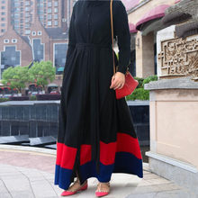 Muslim Abaya Dress Women Lace-up Open Abayas Dubai Dresses Islamic Clothing Kimono Caftan Hijab Turkish Moroccan Kaftan Elbise()