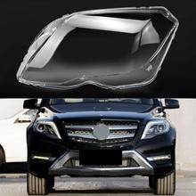Car Front Headlight Head Light Lamp Clear Lens Cover Headlamp Plastic Shell for Mercedes Benz GLK200 GLK260 GLK300 2013-20