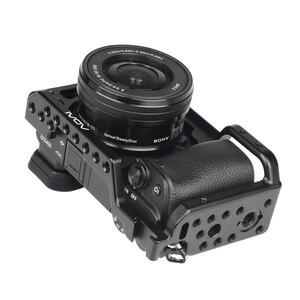 Image 3 - SETTO A6400 Camera Kooi voor Sony Alpha A6400 Camera Functie met 1/4 3/8 Schroefdraad Gaten voor Vlog DIY Video