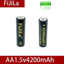 100% neue AA batterie 4200 mAh akku NI-MH 1,5 V AA batterie für Uhren, mäuse, computer, spielzeug so auf