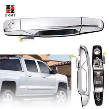 Chrome Outer Exterior Door Handle for 2007-2014 Chevrolet GMC Front Left Driver Side Trims Car Decoration Accessories