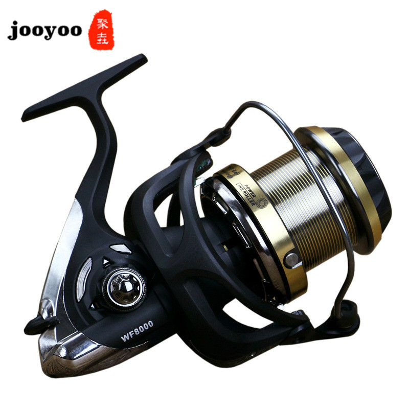 5.1:1 High Speed Series 9+1BB Carbon Distant Wheel Large Spinning Reel Fishing Line Round Sea Fishing Round Fishing Reel River