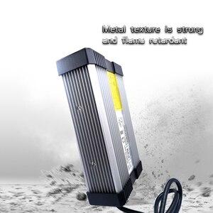 Image 2 - YZPOWER 54,6 V 4.5A 5A 5.5A 6A 6.5A 7A 7.5A 8A литий ионная Lipo батарея зарядное устройство Выход DC вход 100 240 В
