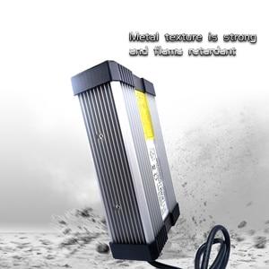 Image 2 - YZPOWER 54.6V 4.5A 5A 5.5A 6A 6.5A 7A 7.5A 8A 리튬 이온 Lipo 배터리 충전기 출력 DC 입력 100 240V