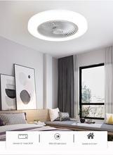 52 см невидимые воздушные вентиляторы светильники умный потолочный