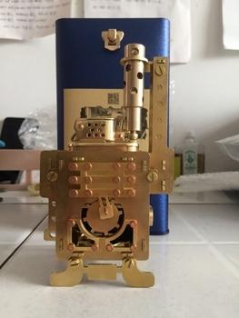 Steampunk Handmade Brass Kerosene Aart Collection Lighter With Music Box4
