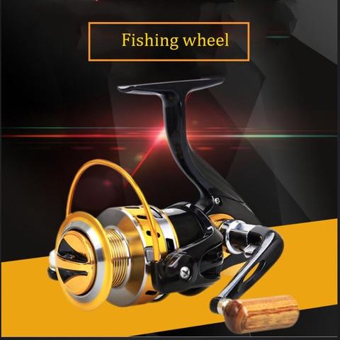 carretel de pesca fiacao 5 5 1 12 1bb metal rocker reel linha de pesca