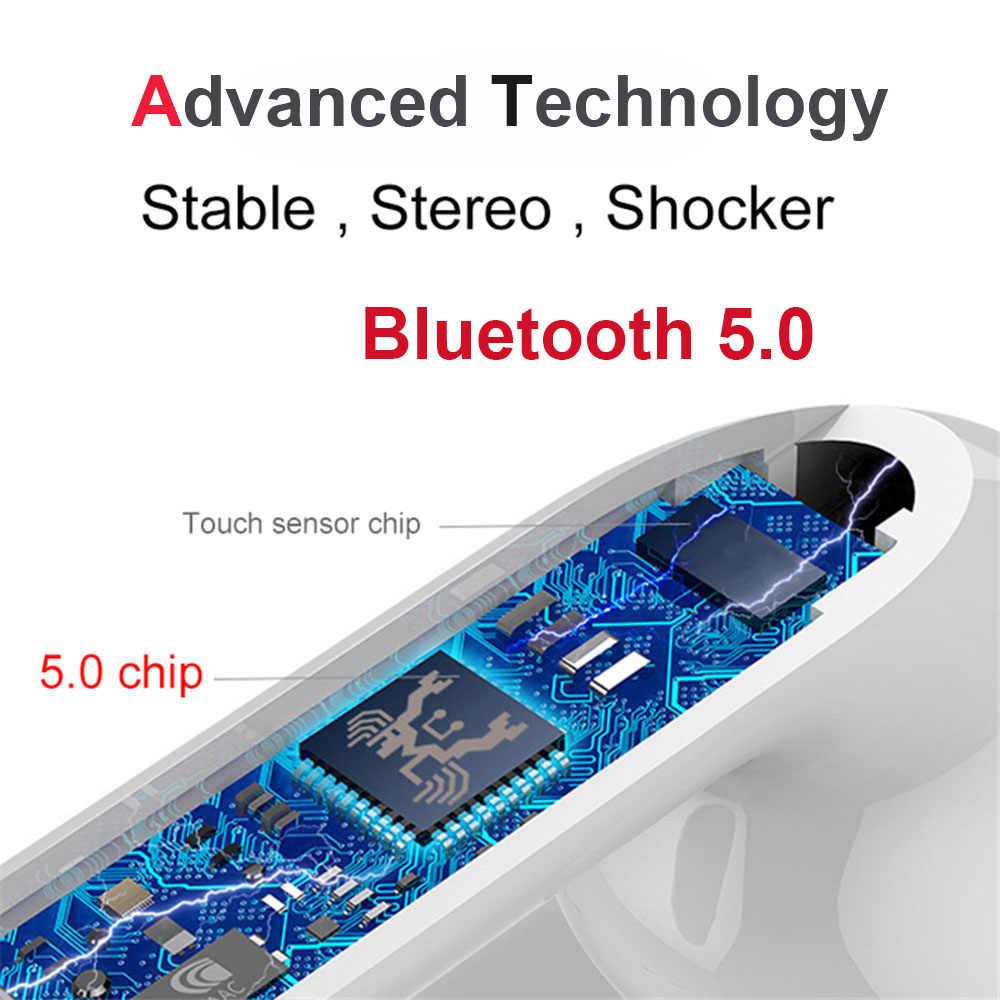 ミニ i18 TWS ワイヤレスイヤホン Bluetooth 5.0 ヘッドホンスポーツタッチ用アンドロイド xiaomi オリジナル Iphone 耳 i10 のため i13