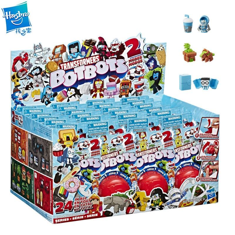 Фигурки героев аниме Hasbro Трансформеры botbot 48, коллекционные игрушки для детей, Рождество