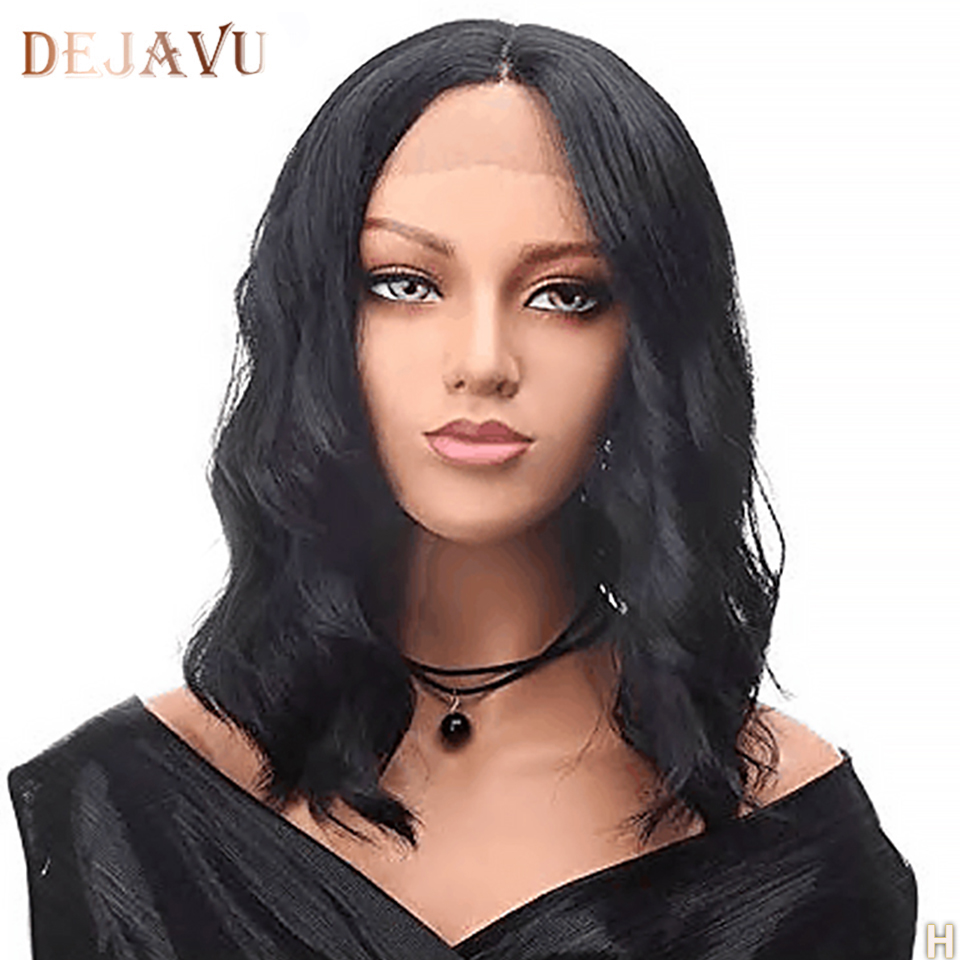 Lace Front Human Hair Wigs Body Wave Pre Plucked Lace Front Wig Density 130% 8-26 Inch Brazilian Non-Remy Human Hair Wigs Dejavu