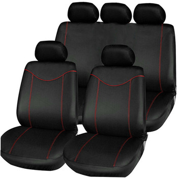 Universal Car Seat Cover Full Seat Covers Auto Interior Styling Fit for Hyundai Sonata Elantra Genesis BMW Toyota image