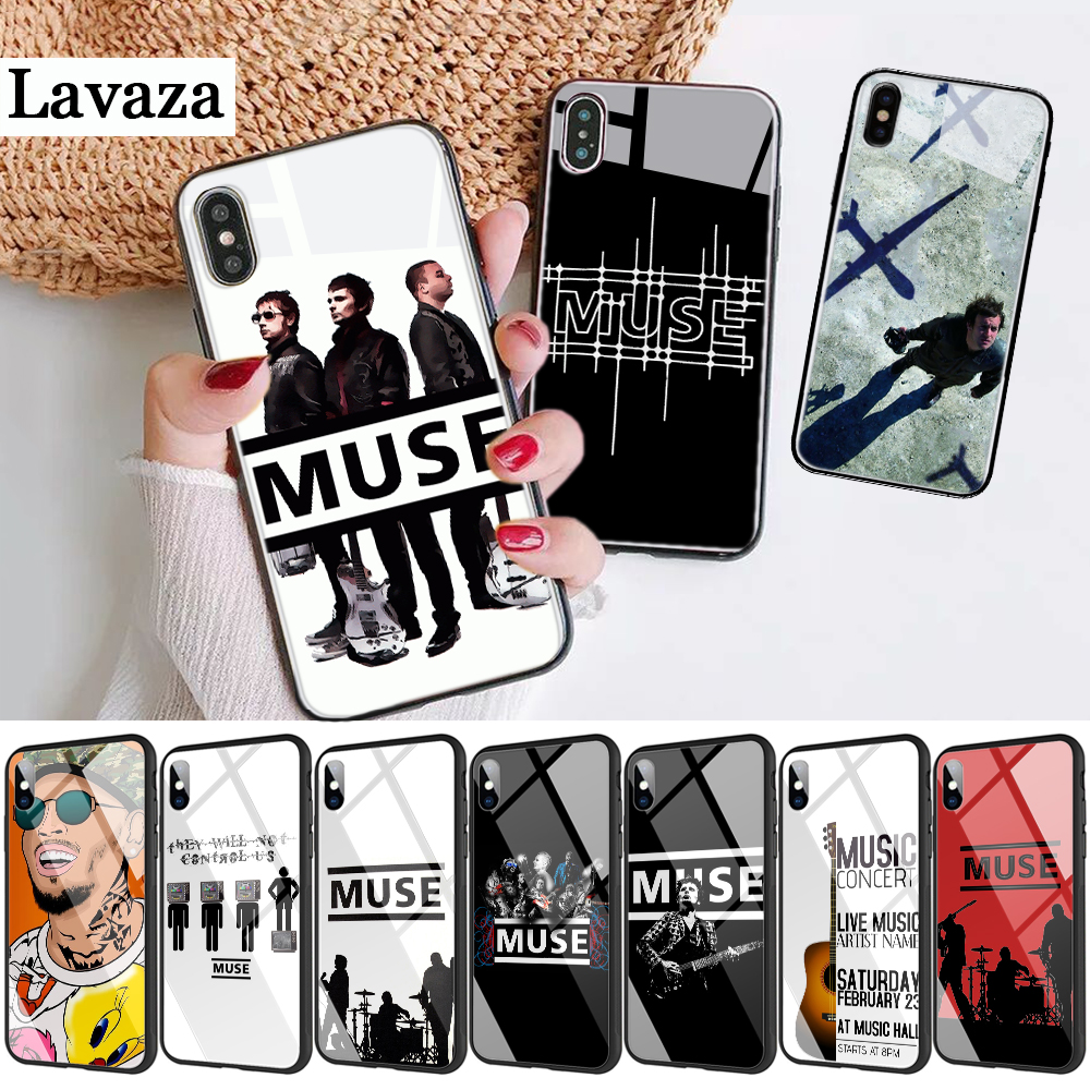 239d Muse Band Lyrics Music Songs Glass Phone Case for Apple iPhone 11 Pro XR X XS Max 6 6S 7 8 Plus 5 5S SE image