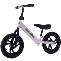Children Bicycle No Pedal Bike 2 wheeled Kid Bike Scooter Outdoor toys Training Exercise Bicycle for 2 8Years High Carbon Steel