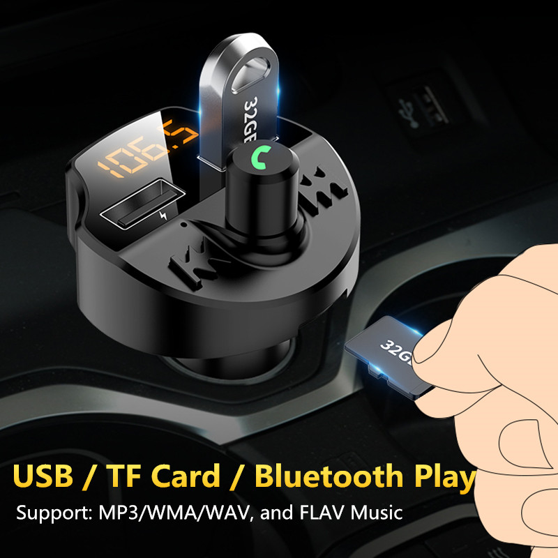 lowest price FM Transmitter Bluetooth Car Kit MP3 Player LED Dual USB 4 1A Car Charger For Lexus RX300 IS250 GS300 RX RX330 RX350 LX470 GX470