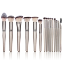 15pcs Makeup Brushes Set Foundation Powder Blush Eyeshadow Concealer Lip Eye Make Up Brush Tools 10pcs makeup brushes set foundation powder blush eyeshadow concealer lip eye make up brush cosmetics beauty tools