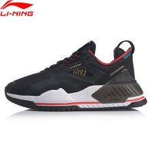 Li-ning men 001 t2000 a tendência estilo de vida à moda sapatos tpu suporte forro li ning retro esporte sapatos tênis aglq019