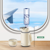 220V Electric Instant Water Dispenser Fast Heating Electric Kettle Mini Portable Desktop Water Pump Travel Drink Dispenser 1600W