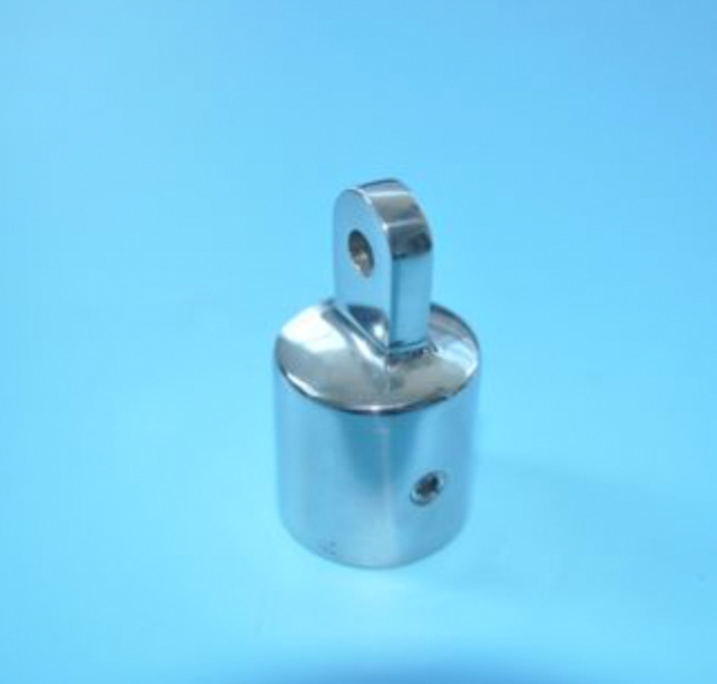 Yacht Accessories Stainless Steel 316 Sliding Sleeve Hua Mao Clamp Regular Holder Marine Hardware