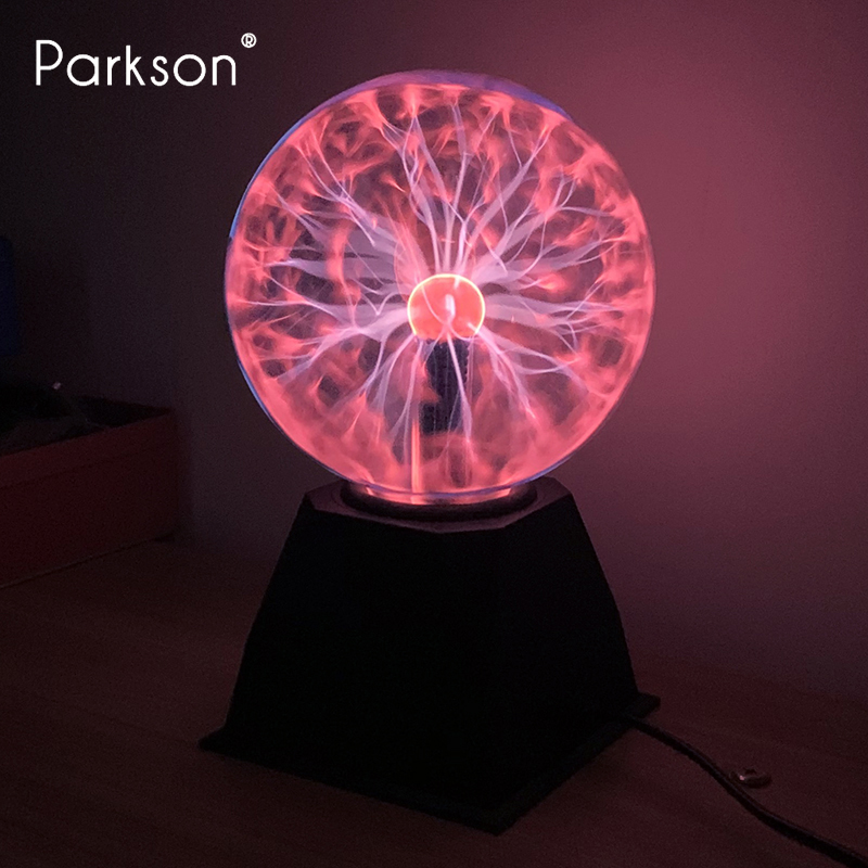 Magic Plasma Ball Lamp 3/4/5/6 Inch 220V Interactive Touch Sensitive LED Night Light Valentine's Gift Novelty Magic Light