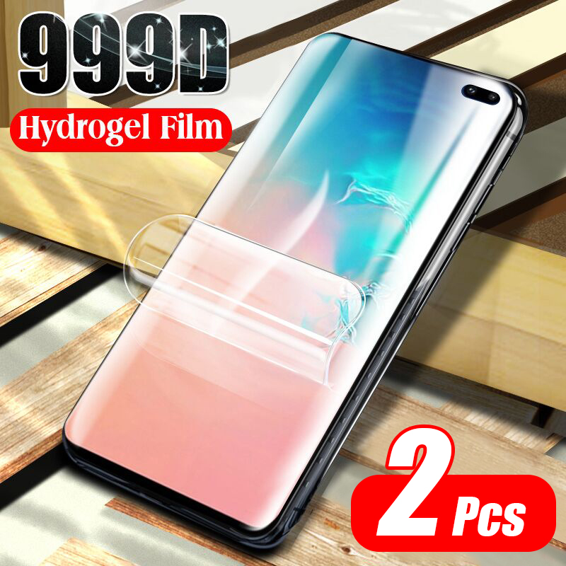 2Pcs Hydrogel Soft Film For Samsung Galaxy S20 Ultra Note 10 Plus Screen Protector For S8 S9 S10 Plus S10E A51 Film Not Glass 1