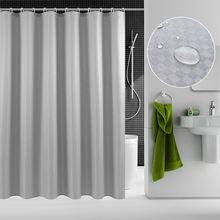 Штора для душа из полиэстера с 12 крючками простые подарки ванной