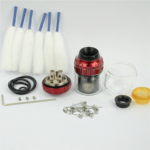 ゼウス × rtaタンクデッキ電子タバコ改造デュアルコイル吸うタンクrta vaperアトマイザー25ミリメートル