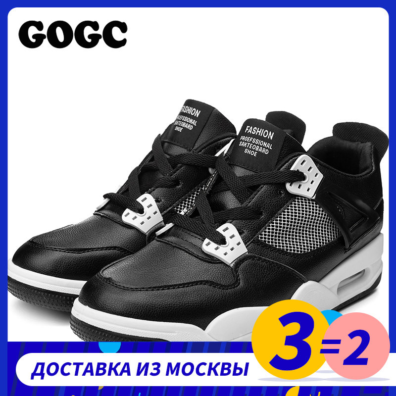 GOGC Summer Men Shoes Men Sneakers Casual Shoe Breathable Krasovki Basket Comfortable Sport Men Platform Shoes Flat Footwear 650